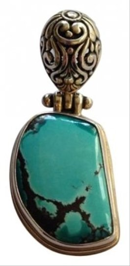 Preload https://img-static.tradesy.com/item/122500/silver-turquoise-pendant-necklace-0-0-540-540.jpg