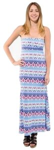 MultiColor Maxi Dress by Auditions Long Maxi Strapless