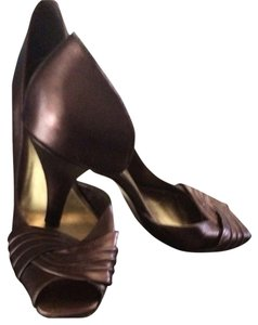 Antonio Melani Bronze/Brown Pumps