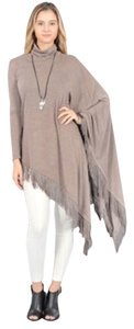 Cezanne Bohemian Long Asymmetrical Fringe Sweater Cardigan