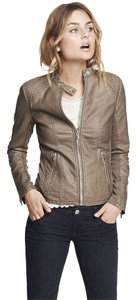 Express Clay Leather Jacket