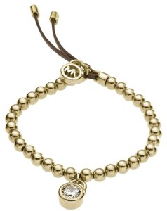 Michael Kors 10% OFF until 9/30-W/BONUS*-Crystal Padlock Stretch Bracelet