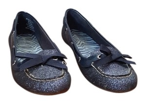 Sperry Glitter Navy blue Flats