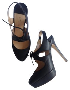 Barneys New York Black Platforms