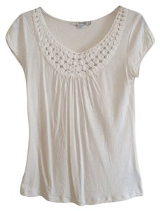 Boden Knit Top Ivory