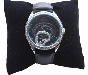 Sparo LARGE FACE PENN STATE NITTANY LIONS (RHINESTONE & FLOATING HEART) WATCH