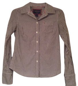 American Eagle Outfitters Top Brown