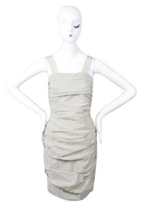 Yigal Azroul short dress Beige Azrouel on Tradesy