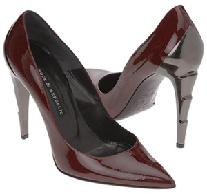 Rock & Republic Dark Red Burgandy Pumps