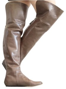Vera Wang Lavender Label Brown Mink Boots