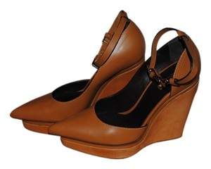 Calvin Klein Collection Cognac Wedges