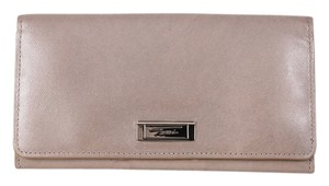 Tumi Vintage Tumi Beige Slim Leather Wallet