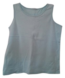 L.L.Bean Shirt Sleeveless Top Mint Green