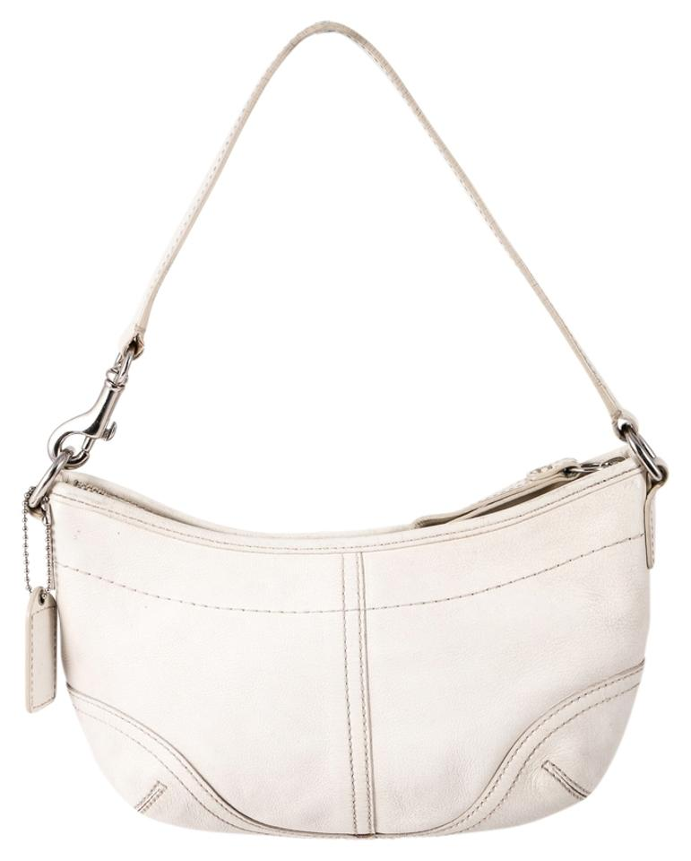 Coach Hobo Small Style 4283 White Leather Shoulder Bag