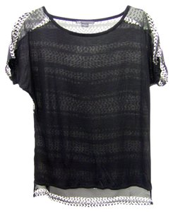 A|X Armani Exchange Top black, white, grey