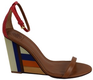 Tory Burch Wedge Wedge Multicolored - brown Wedges