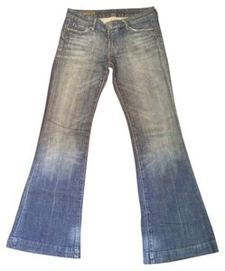 Citizens of Humanity Stonewash Cuffed Boot Cut Jeans