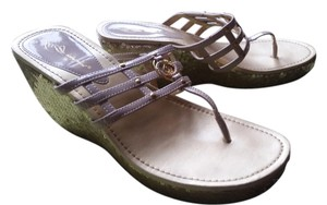 Baby Phat Golden Sandals