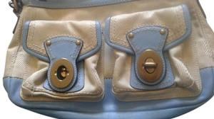 Coach Sig. C's Cotton Shoulder Bag