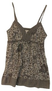 American Eagle Outfitters Top Grey/White Floral