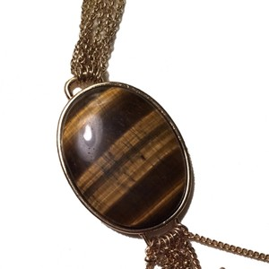 Merona Tigers Eye Pendant Necklace