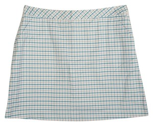 LILYS of Beverly Hills LILYS of Beverly Hills golf skirt skort turquoise white and gray size 14