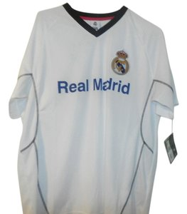 OFFICIAL PRODUCT NEW REAL MADRID JERSEY SIZE M WHITE
