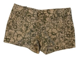 Aropostale Shorts Green/Off white floral