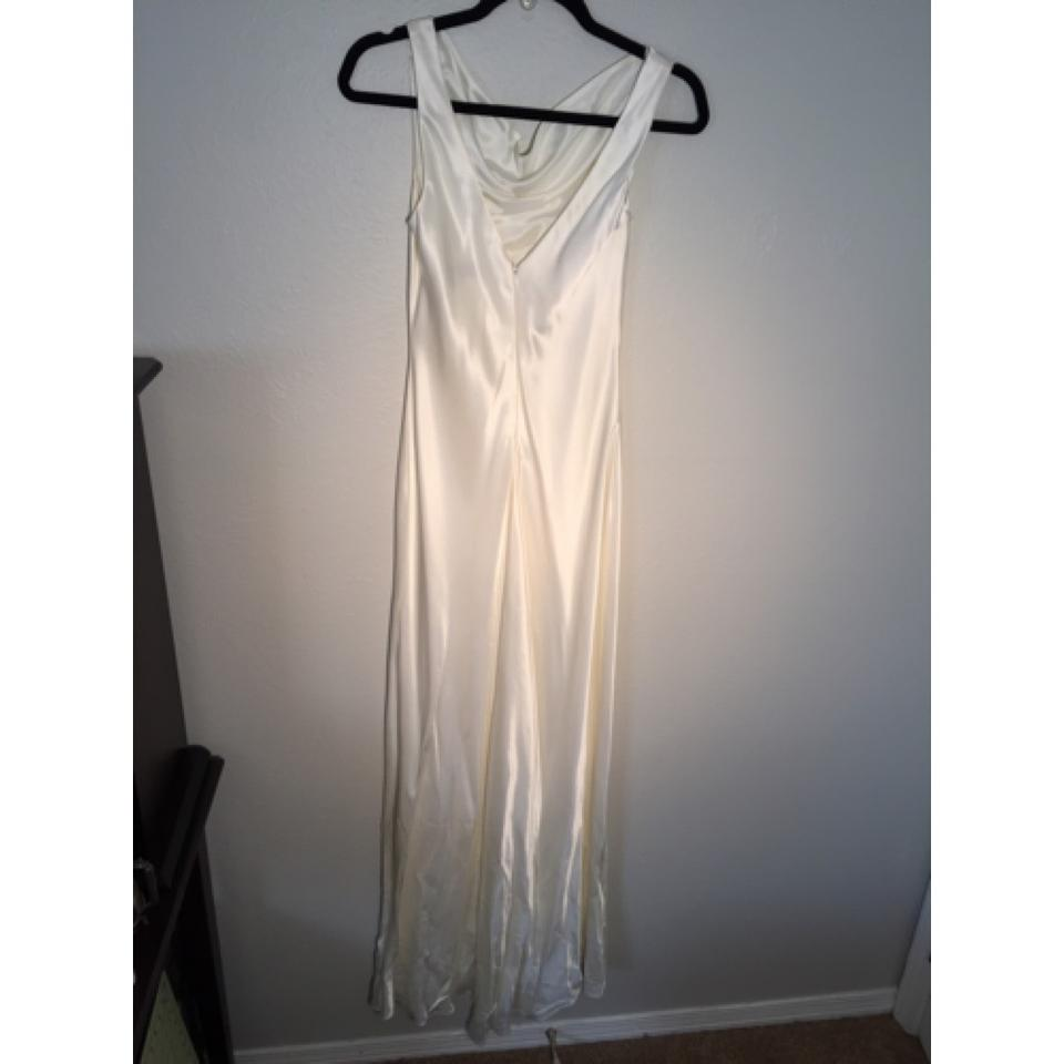 Lillie Rubin Ivory Wedding Or Evening Gown Long Formal Dress Size 2 ...
