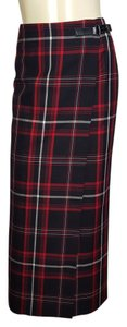 Charter Club Maxi Skirt multi-colored (black, red and white)