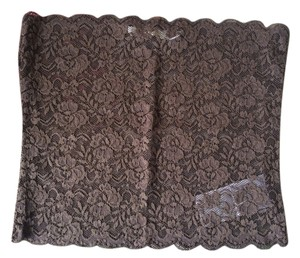 Calliope Women Strapless Lace Top Brown