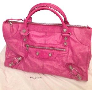 Balenciaga Tote in hot pink