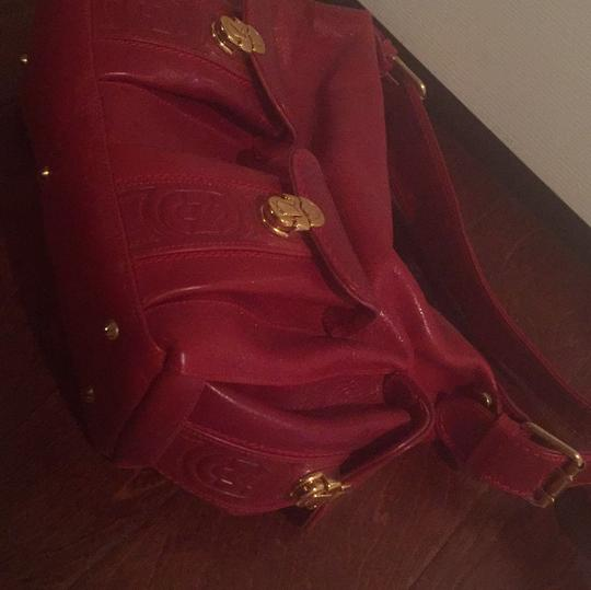 Marino Orlandi Satchel in Red