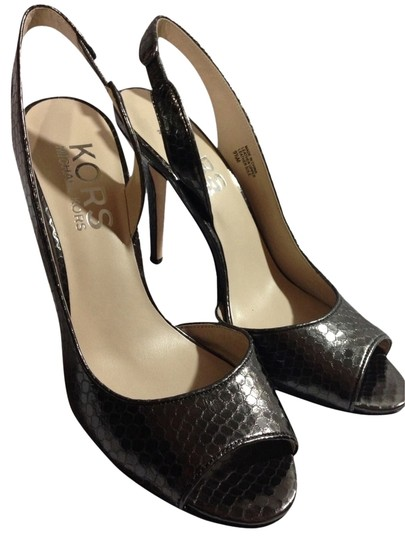 Michael Kors Gun Metal Grey Pumps