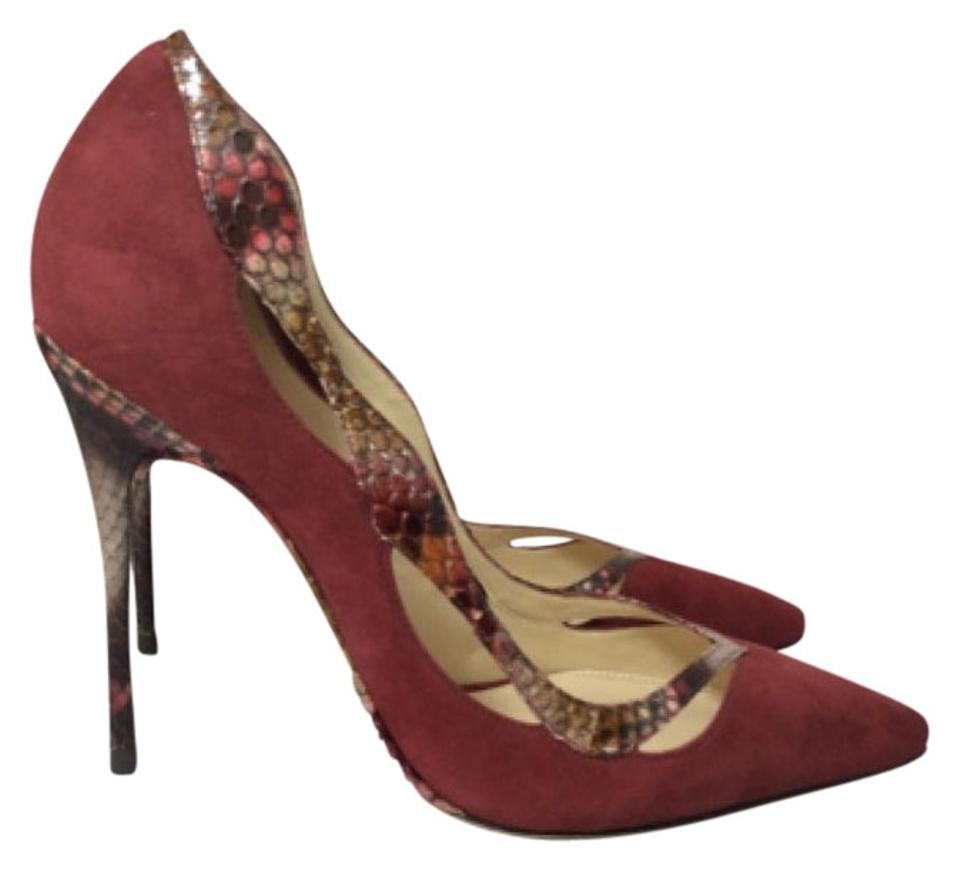 lady Alexandre Red Birman Red Alexandre Suede Pumps luxury 42dbb7