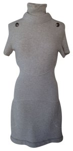 Chanel short dress Grey on Tradesy