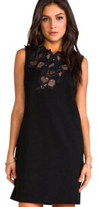 BCBGMAXAZRIA short dress BLACK Lbd Holiday Little Lace Night Out on Tradesy