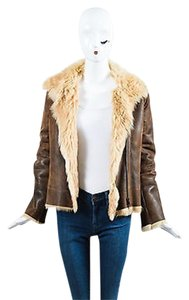 Joseph Tan Shearling Brown Jacket