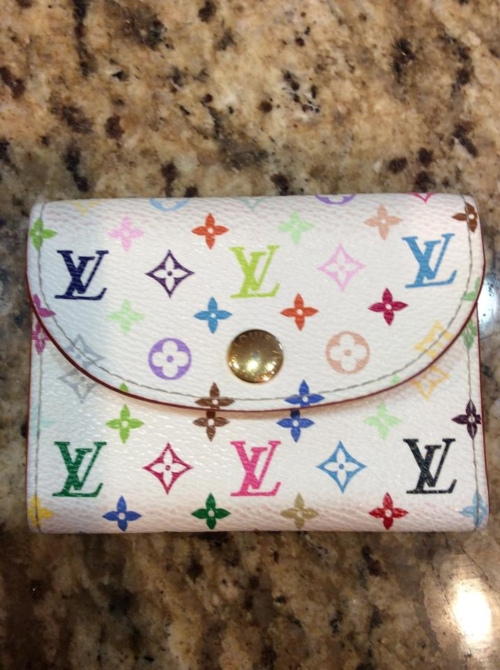 Louis Vuitton Multicolor Business Card Case Holder Wallet - Tradesy