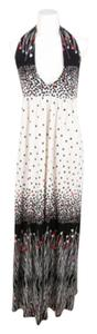 Black Maxi Dress by Tibi Cream Red Knit