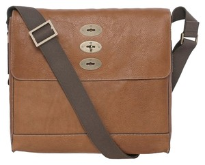 545c44b5ccb Mulberry Brynmore Leather Men s Hh5625-342g110 Oak Natural Messenger Bag