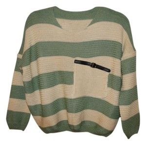 Brashy Couture Fall Stripes Knit Sweater