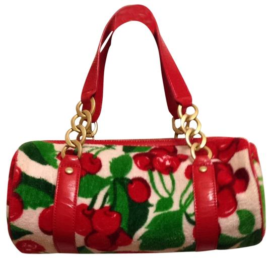 Juicy Couture Satchel in Red Print