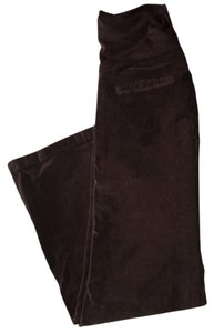 Olian Maternity Brown Curdoroy Maternity Pants