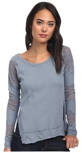 Free People Lace We The Pullover Sweater