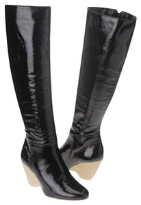 Aerosoles Black Patent Leather Boots