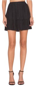 Ramy Brook Mini Mini Skirt Black