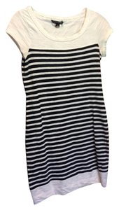 Banana Republic short dress navy blue and white on Tradesy