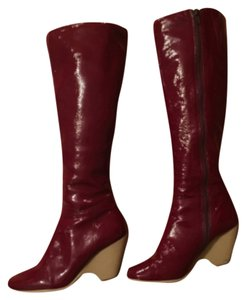 Aerosoles Red Patent Boots