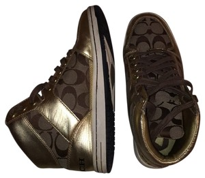 Coach Gold brown Athletic